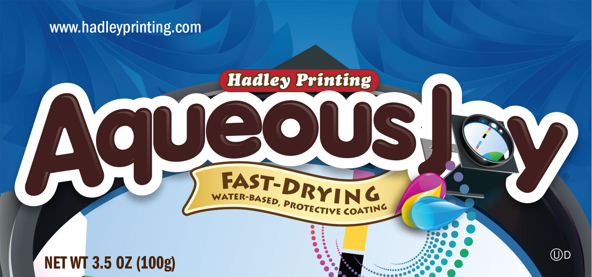 Hadley Aqueous Joy wrapper