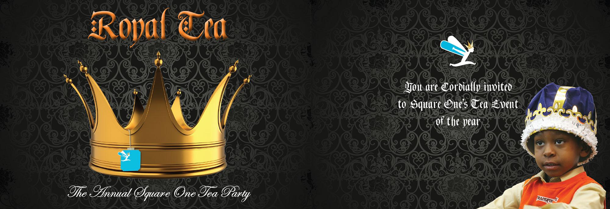 squareone royal tea invite