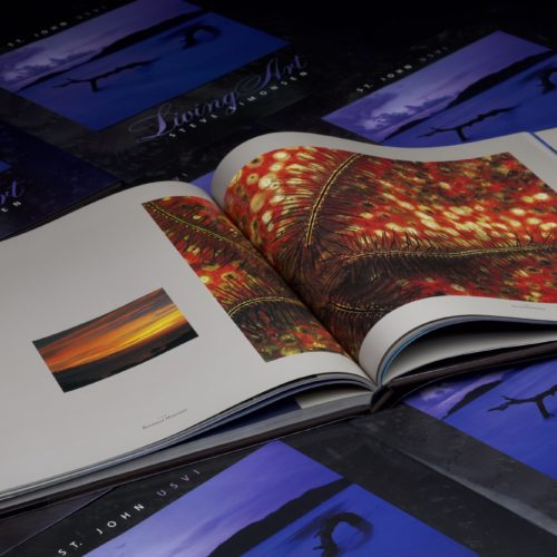 living art table book